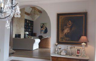 Wohnzimmer Couch Villa Euthymia Südfrankreich Côte d'Azur