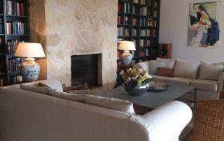 Kamin Villa Euthymia Südfrankreich Côte d'Azur
