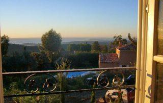 Fensterblick Villa Euthymia Südfrankreich Côte d'Azur
