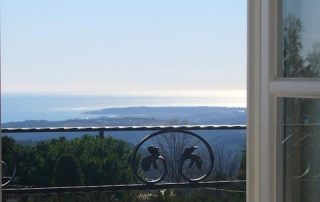 Fenster Villa Euthymia Südfrankreich Côte d'Azur