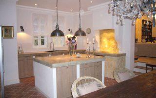 Küche Villa Euthymia Südfrankreich Côte d'Azur
