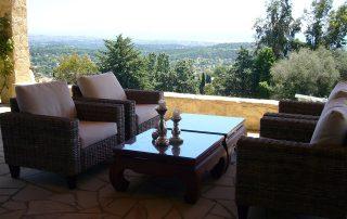 Lounge Villa Euthymia Südfrankreich Côte d'Azur