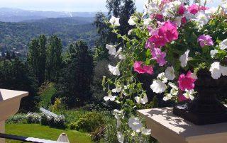 Terasse Villa Euthymia Südfrankreich Côte d'Azur